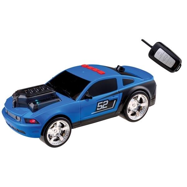 Happy People Auto plavi 28cm sa ključem, zvukom i svetlom 34444 - ODDO igračke