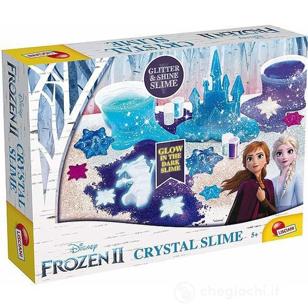 Frozen II Cristal slime Glow in the dark 73689 - ODDO igračke