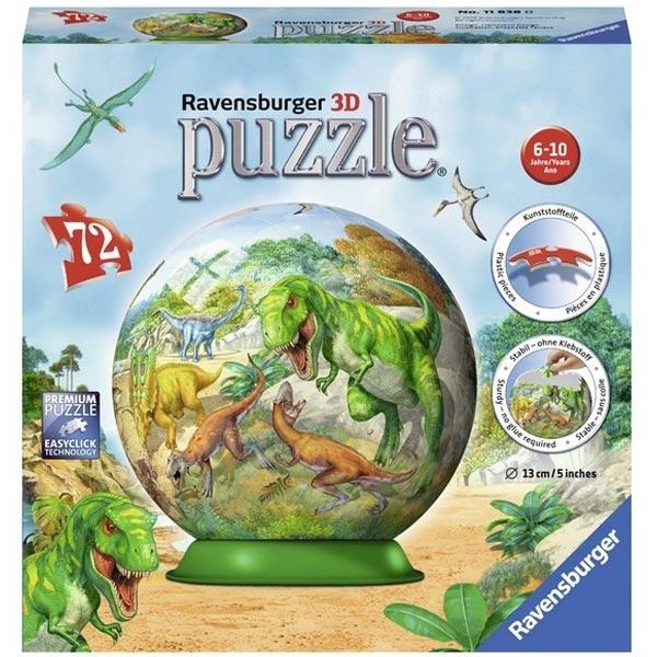 Ravensburger 3D puzzle (slagalice) Dinosaurusi RA11838 - ODDO igračke