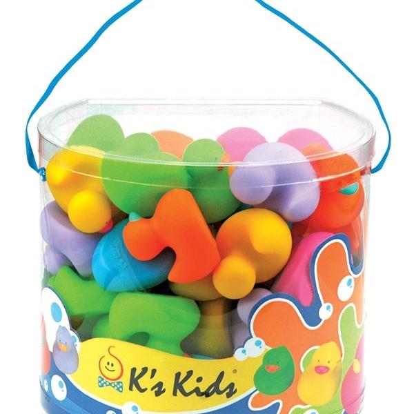 Šarene patkice za kupanje KA10551-PB - ODDO igračke