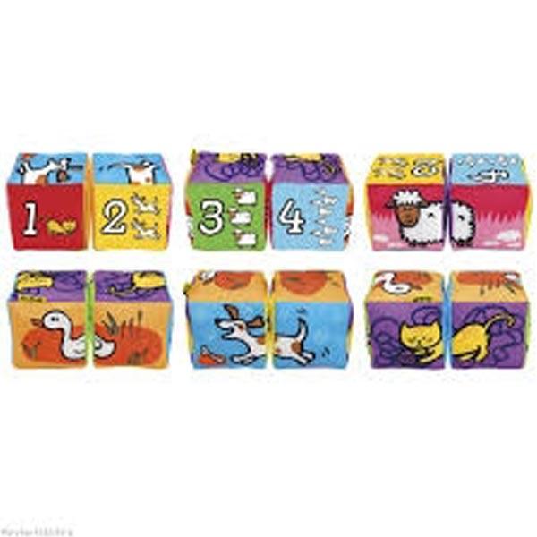 Složi kockice-životinje KA10755-GB - ODDO igračke