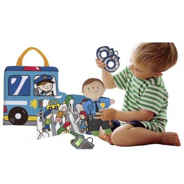 Prostirka-Policajac i Vatrogasac KA10778-GB - ODDO igračke
