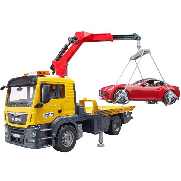 Kamion MAN Tgs šlep služba Bruder i auto 037505 - ODDO igračke