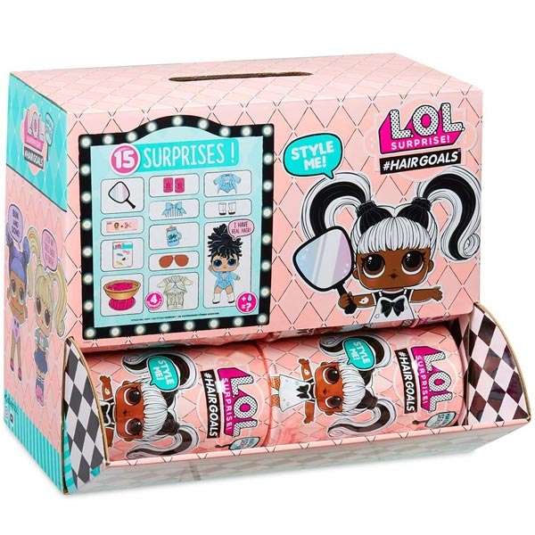 LOL Lutkica kuglica Hairgoals Suprise Pack 556220 - ODDO igračke