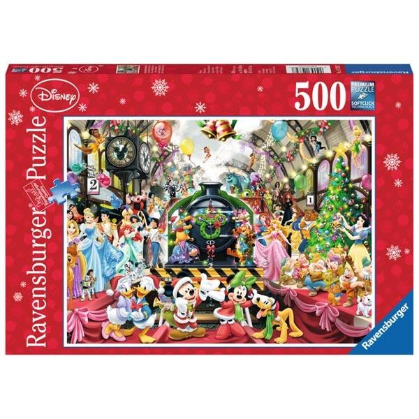 Ravensburger puzzle (slagalice) 500pcs Novogodišnja Disney žurka RA14739 - ODDO igračke