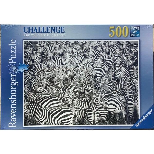 Ravensburger puzzle (slagalice) 500pcs Zebra izazov RA14807 - ODDO igračke