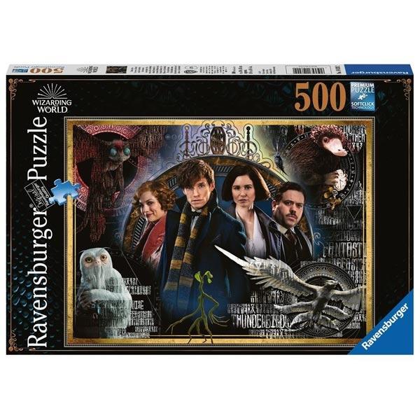 Ravensburger puzzle (slagalice) 500pcs Fantastične zveri RA14820 - ODDO igračke