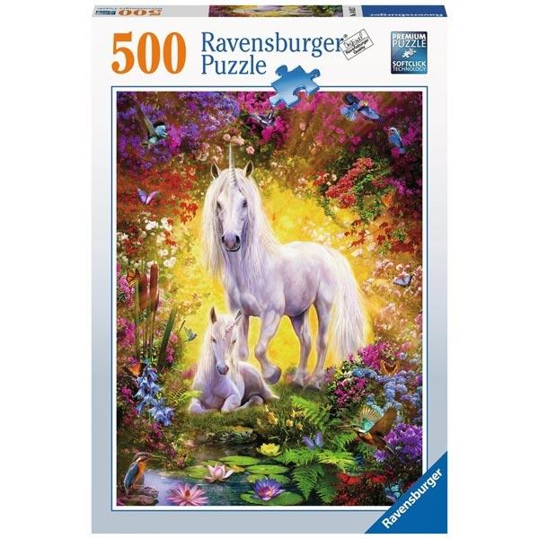 Ravensburger puzzle (slagalice) 500pcs Jednorg i ždrebe RA14825 - ODDO igračke