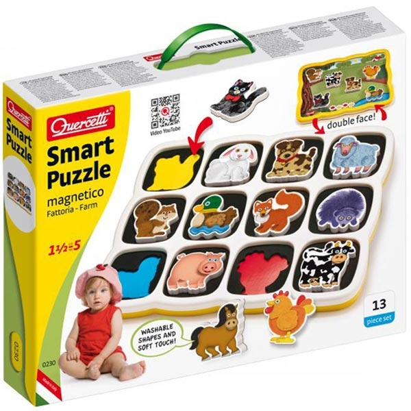 Quercetti Magnetna Tabla Farma 0230 - ODDO igračke