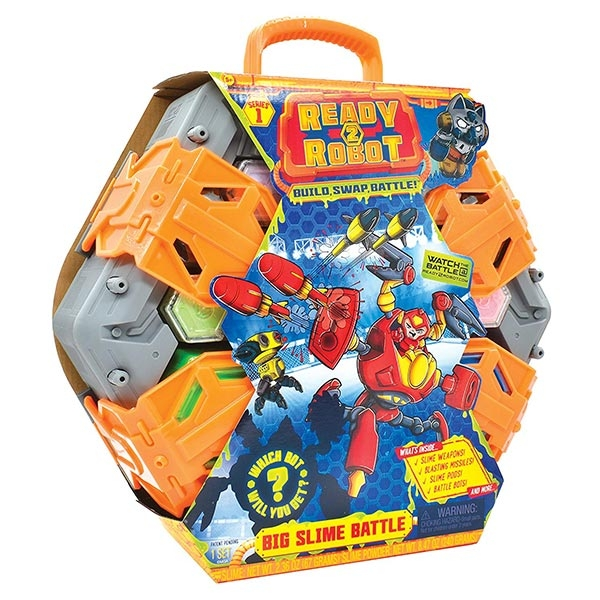Ready 2 Robot Big Slime Battle Veliki set 30378 - ODDO igračke