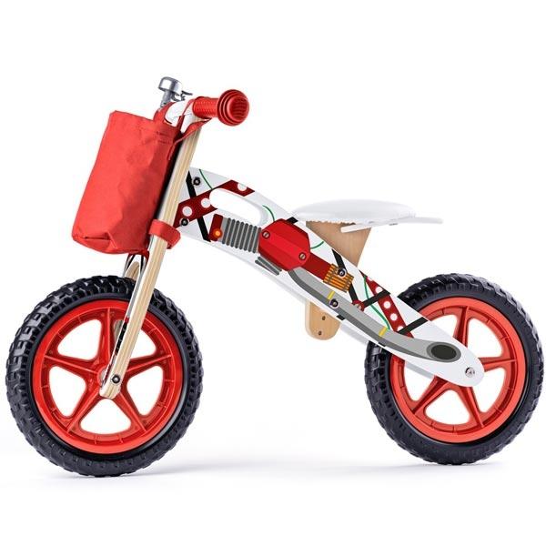 Woody Balans Bicikl Crveni 93066 - ODDO igračke