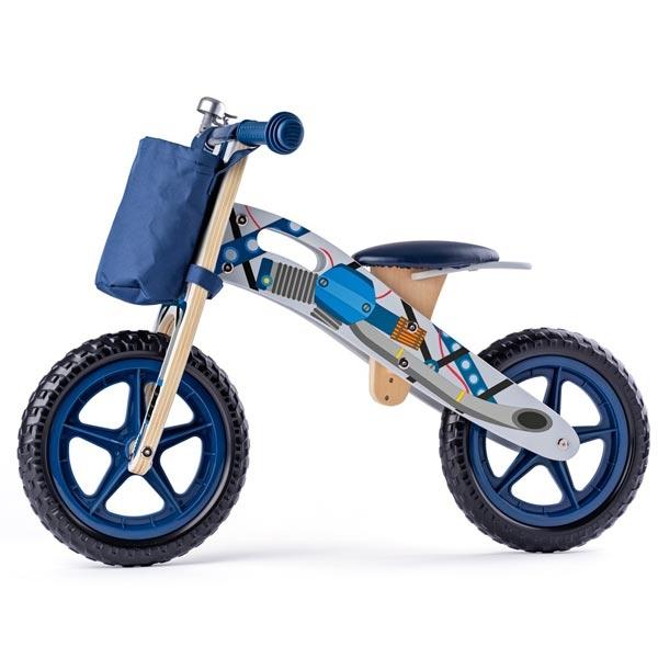 Woody Balans Bicikl Plavi 93065 - ODDO igračke