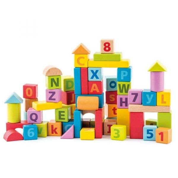 Woody Drvene Kocke 91842 - ODDO igračke