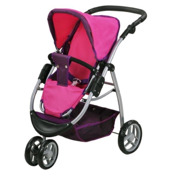 Kolica za lutke Knorr Toys Cico Pink 90439 - ODDO igračke