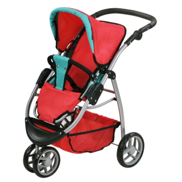 Kolica za lutke Knorr Toys Cico Red Green 90445 - ODDO igračke