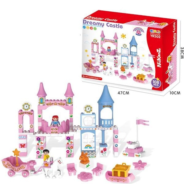 Kocke Zamak 108 dela 11/30366 - ODDO igračke