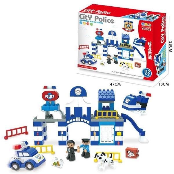Kocke Policijska Stanica 112 delova 11/30375 - ODDO igračke