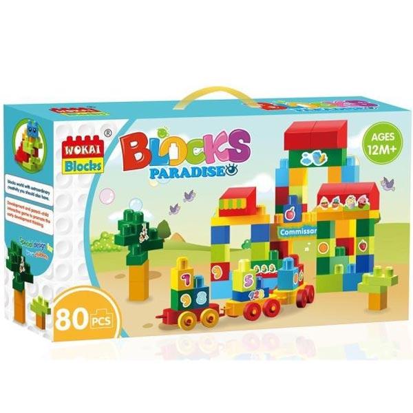 Kocke 80 komada 11/95783 - ODDO igračke