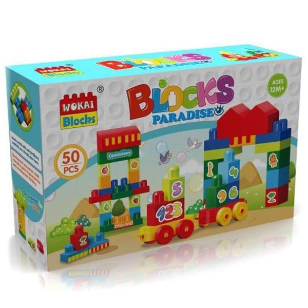 Kocke 50 komada 11/95792 - ODDO igračke