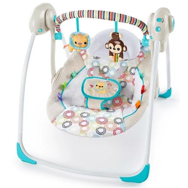 Kids II Petite Jungle Ležaljka/Ljuljaška 11134 - ODDO igračke