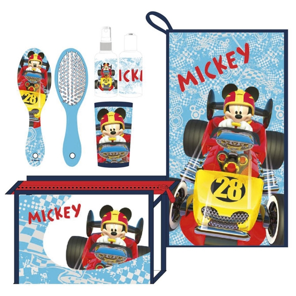 Torbica-neseser set 6/1 Mickey Roadster Cerda 2500000842 - ODDO igračke
