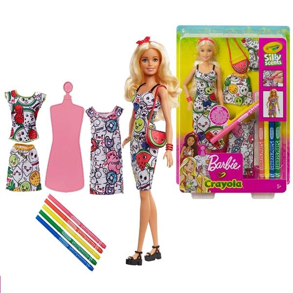 Barbie Lutka Crayola GGT44 - ODDO igračke
