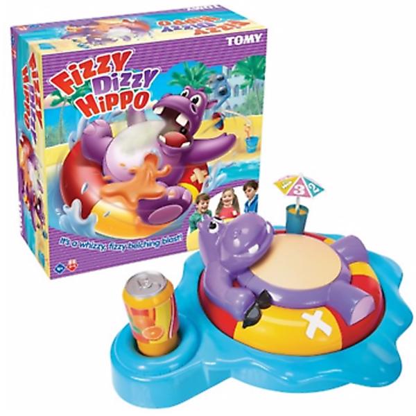 Društvena igra Fizzy Dizzy Hippo Tomy (prevedeno na srpski) T72606 - ODDO igračke