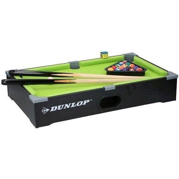 Dunlop Bilijarski sto drveni 21pcs 51x31x9cm - ODDO igračke