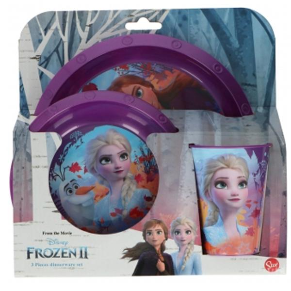 Set za jelo 3pcs Frozen II 145g - ODDO igračke