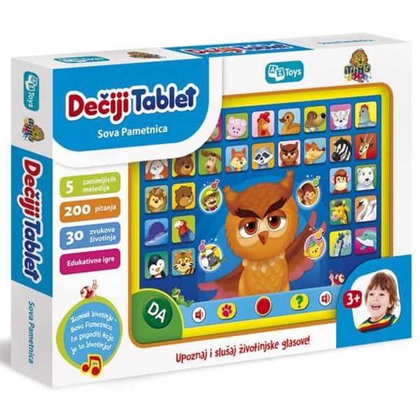 Dečiji tablet Sova pametnica 11/01008 - ODDO igračke