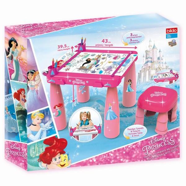 Sto i stolica sa setom za bojenje Princess 04/7117 - ODDO igračke