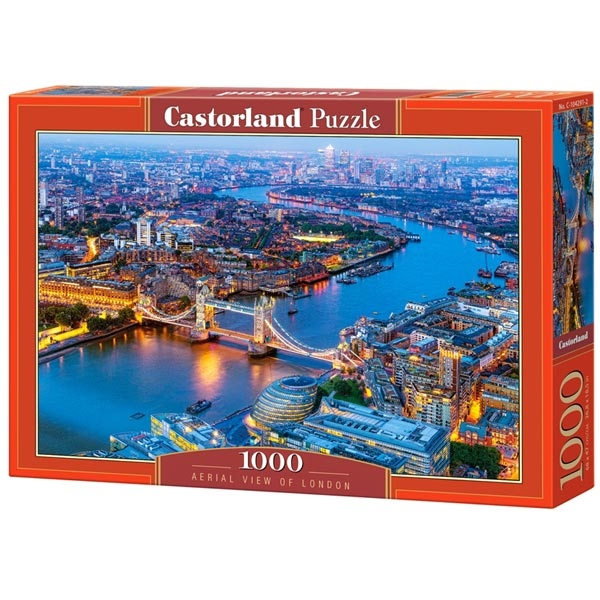 Castorland puzzla 1000 Pcs Aerial View of London 104291 - ODDO igračke