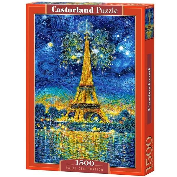 Castorland puzzla 1500 pcs Paris Celebration 151851 - ODDO igračke