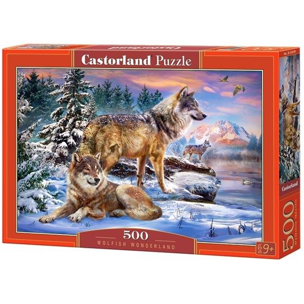 Castorland puzzla 500 Pcs Wolfish Wonderland 53049 - ODDO igračke