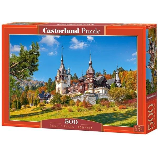 Castorland puzzla 500 Pcs Castle Peles, Romania 53292 - ODDO igračke