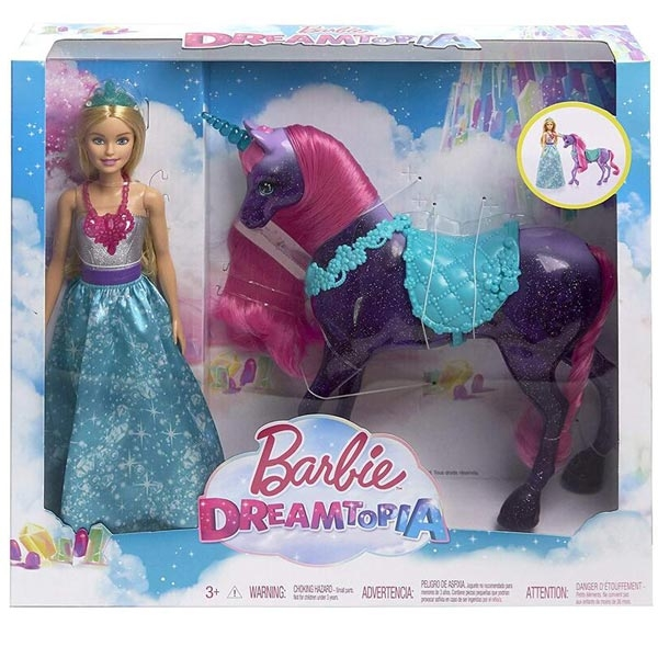 Barbie lutka Dreamtopia sa jednorogom FPL89 - ODDO igračke