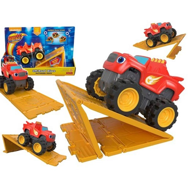 Blaze and the Monster Machines Off-Road Fisher Price FHV13  - ODDO igračke