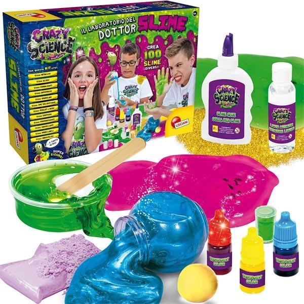 Crazy Science Velika Laboratorija Slime Lisciani EN68685 - ODDO igračke