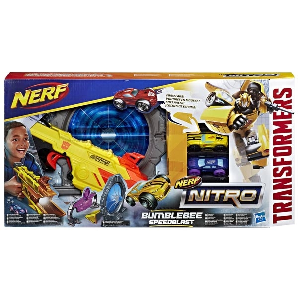 Nerf Nitro Transformers Bumblebee Speedblast E0892 - ODDO igračke