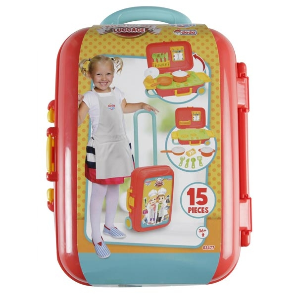 Kuhinjski set u koferu Dede 034776 - ODDO igračke