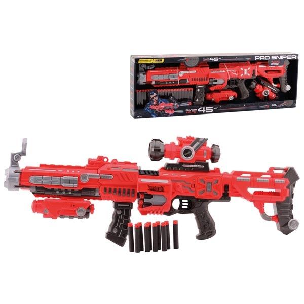 Tack Pro Sniper 7 Puska 75cm sa svetlom I 20 sundjerasta metka 31009 - ODDO igračke