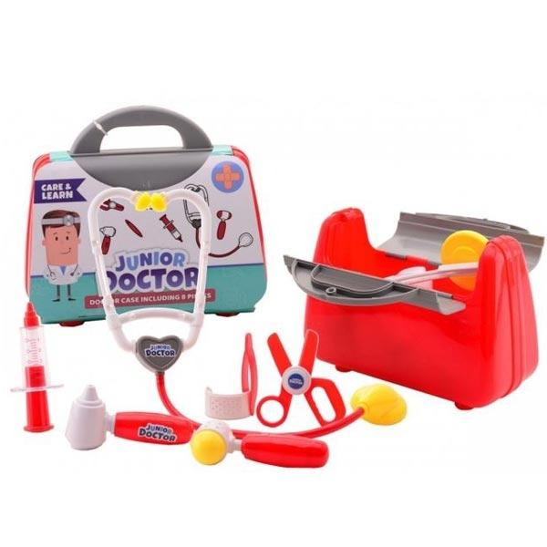 Doktorski set u koferu sa instrumentima 8pcs 21x9x19 27634 - ODDO igračke