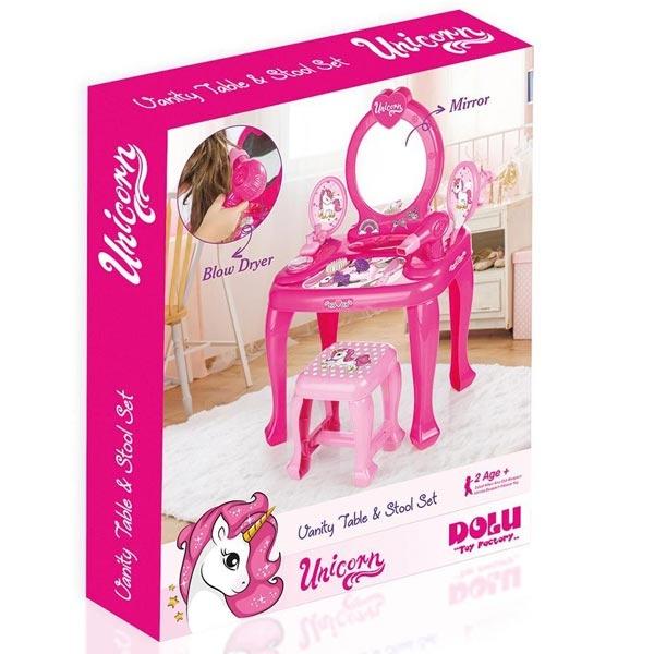 Kozmetički sto Set za ulepšavanje Jednorog Dolu 025616 - ODDO igračke