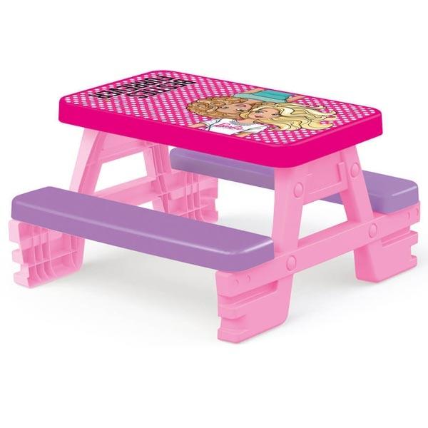 Sto Piknik sa klupicama Barbie Dolu 016089 - ODDO igračke