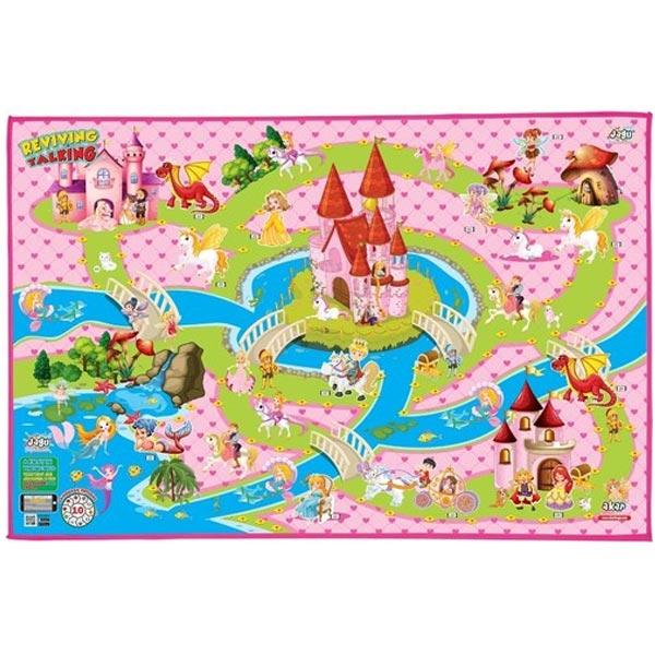 Tepih Prostirka interaktivna Princess Jagu 150 x 100cm 005732 - ODDO igračke
