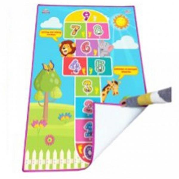 Tepih prostirka školica interaktivni roze Jagu 50 x 100cm 497955 - ODDO igračke