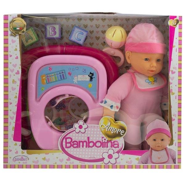 Lutka Beba Bambolina Amore sa hodalicon set DI1830 - ODDO igračke