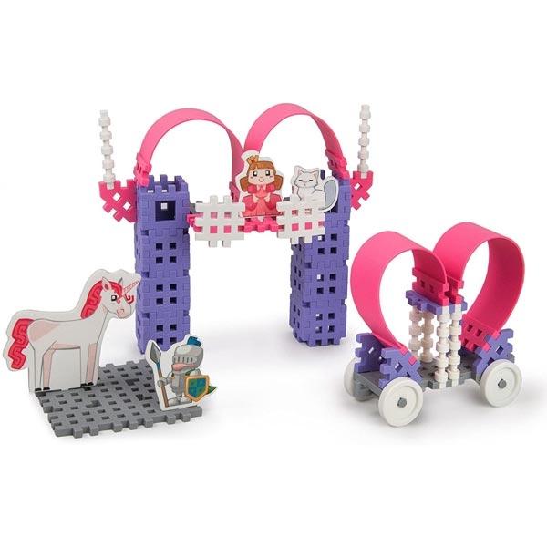 Konstruktor princeza srednji set Mini Waffle Princess Marioinex 902493 - ODDO igračke