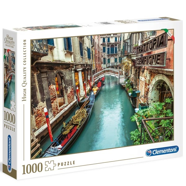 Clementoni puzzla Venice 1000pcs 39458 - ODDO igračke