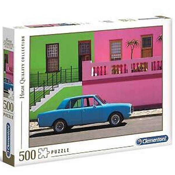 Clementoni puzzle Blue Car 500pcs 35076 - ODDO igračke